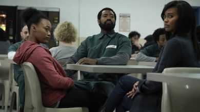 """From left: Tyla Harris, Nicholas Pinnock and Joy Bryant star in ABC's """"For Life."""" (ABC/Giovanni Rufino)"""