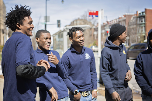 The STEP program at Youthbuild Public Charter School helps students develop resumes and college applications, meet with employers, college admissions offices, practice interview techniques and master job skills. (YouthBuild PCS photo)