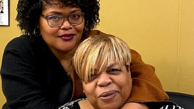Belva J. Jenkins (seated) and her daughter, Lavana Jenkins Reed, are the third- and fourth-generation owners of Johnson and Jenkins Funeral Home in northwest D.C. (D.R. Barnes/The Washington Informer)