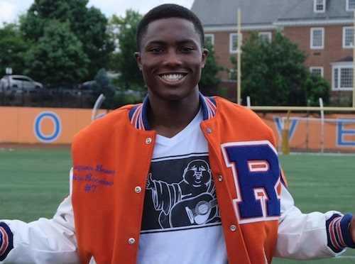 RuQuan Brown recently announced Harvard University as the school he will attend in the fall. (Courtesy photo)