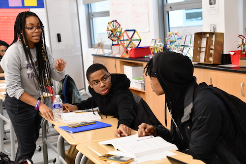 Ashley Kearney, a teacher at Ron Brown College Preparatory High School, has been named 2020 DCPS Teacher of the Year. (Anthony Tilghman/The Washington Informer)