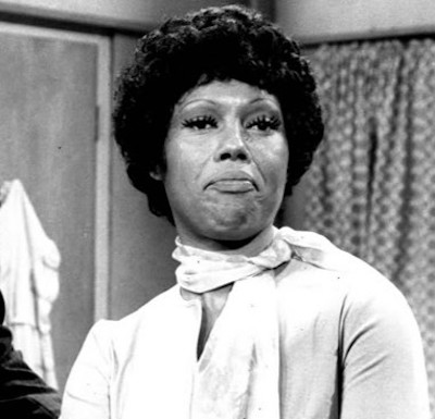 "Ja'net DuBois on the set of ""Good Times"" in 1976 (Wikimedia Commons)"