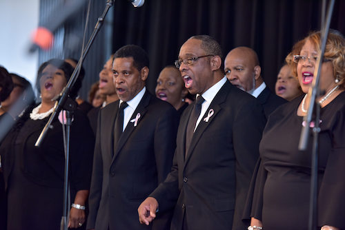 City choruses continue to salute Black History Month through song. (Courtesy photo)