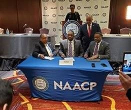 Photo of NAACP, NAREB Sign Groundbreaking Agreement to Promote Increased Black Home Ownership