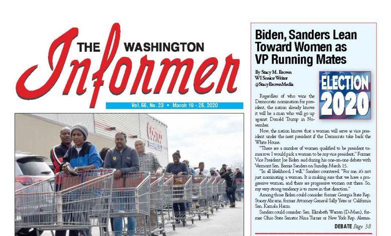 Photo of 3-19-2020 Informer Edition