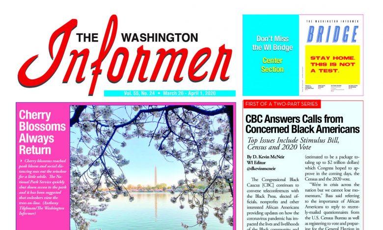 Photo of 3-26-2020 Informer Edition