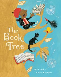 """The Book Tree"" by Paul Czajak, which serves as the National Education Association's ""Book of the Month"" selection, details how after the mayor declares books dangerous and rips up every book in town, a young boy named Ado discovers how to grow them. (Courtesy of Read Across America)"
