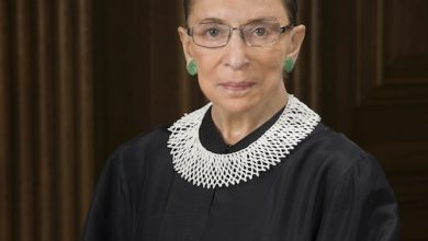 Photo of Supreme Court Justice Ruth Bader Ginsburg Dead at 87