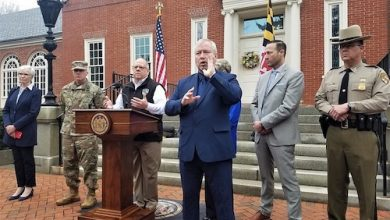 Photo of Hogan Ramps Up Coronavirus Restrictions, Announces State's 1st Child Case: 'Trying to Avoid Locking Down Society'
