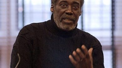 Photo of African-American Playwright Charles H. Fuller Jr.