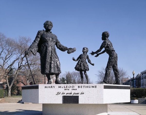 Mary McLeod Bethune memorial in D.C. (Robert Berks via the Library of Congress)