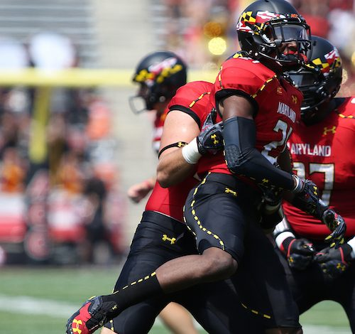 Former University of Maryland safety Sean Davis will play for his hometown Washington Redskins this season. (Daniel Kucin Jr./The Washington Informer)