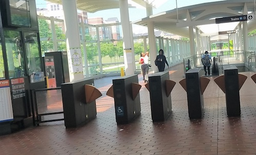 **FILE** The Morgan Boulevard Metro station in Landover, Maryland, is shown here in July 2019. (William J. Ford/The Washington Informer)