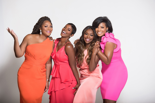 """The talented four-women team and co-hosts of the popular, TV talk show """"Sister Circle Live"""" (Courtesy photo)"""