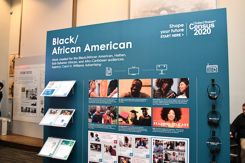 The U.S. Census Bureau hosts a news conference to share outreach plans for the Black community at the African American Civil War Museum in Northwest on Monday, March 2. (Anthony Tilghman/The Washington Informer)