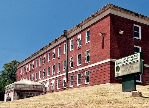 Spingarn Senior High School in Washington, D.C. (Jeaninejo via Wiikimedia Commons)
