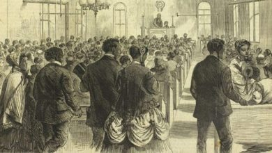"""""""The National Colored Convention in Session at Washington, DC."""" Harper's Weekly (February 6, 1869). Courtesy of the Library Company of Philadelphia"""
