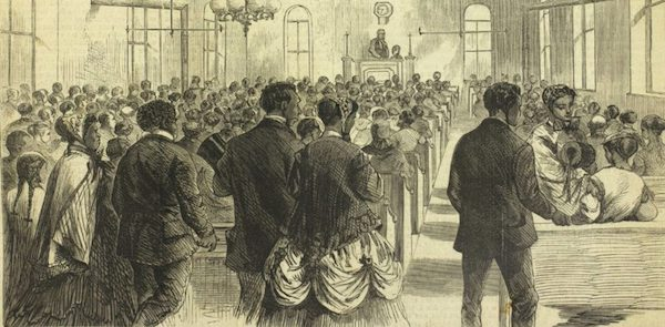 """The National Colored Convention in Session at Washington, DC."" Harper's Weekly (February 6, 1869). Courtesy of the Library Company of Philadelphia"