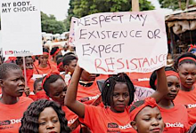 Photo of Women in Zambia in Day of Action for 'She Decides Day'