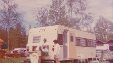 Photo of Filmmaker Documents Grandparents' Travel in RV During Civil Rights Era