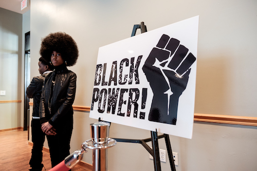 Guess who? It's Angela Davis. (WI file photo)