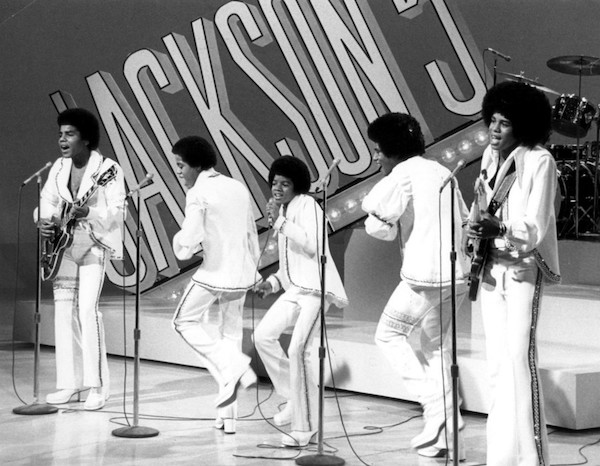Publicity photo of The Jackson 5 from their 1972 television special (Courtesy of CBS Television via Wikimedia Commons)