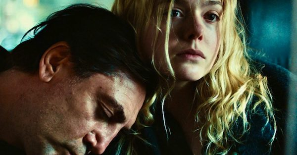 "Javier Bardem and Elle Manning star in ""The Roads Not Taken"""