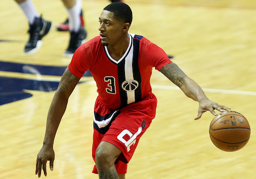 Washington Wizards guard Bradley Beal and his teammates have been on self-quarantine during the coronavirus pandemic. (Daniel Kucin Jr./The Washington Informer)