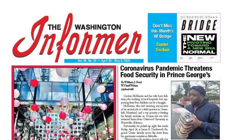 Photo of 4-30-2020 Informer Edition
