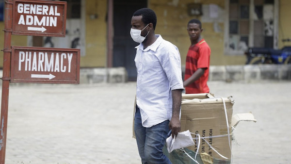Some Blacks are afraid to wear face masks. (Loop Barbados)