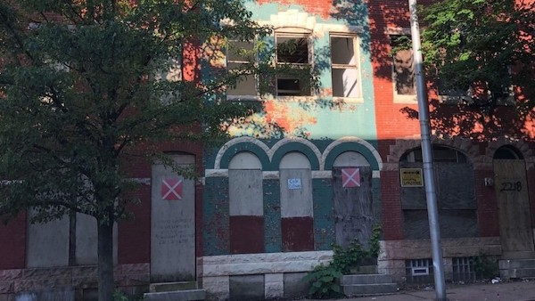 Cab Calloway's former home in Baltimore (Courtesy of Druid Heights Community Development Corp.)
