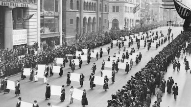Photo of Black Women Helped Spearhead Major Suffrage Parades in 1914