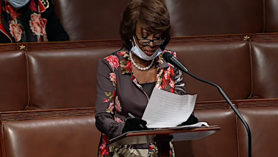 Photo of Maxine Waters Says Sister Dying from Coronavirus