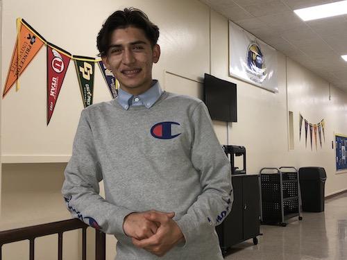 Kilmar Guzman is PGCPS' latest Scholar of the Week. (PGCPS photo)