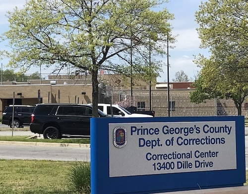 Prince George's County Department of Corrections in Upper Marlboro (William J. Ford/The Washington Informer)