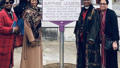 Photo of Baltimore Honors Neighbors Instrumental in Women's Suffrage Movement