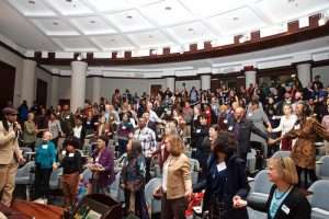 The Taking Nature Black Conference, designed to give African Americans in the environmental field a space to share ideas, network and support one another, saw close to 700 participants at a recent gathering. (Photo by Don Baker)