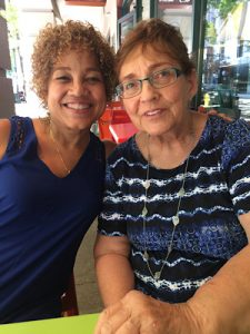 Bev Hunt and her mother Marie Hunt (Courtesy photo)