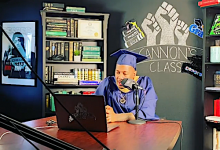 Photo of Nick Cannon Among Howard U.'s Class of 2020