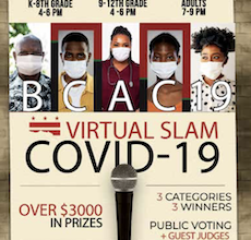 Photo of First DC Poetry Slam Against COVID-19 Kicks off on May 18