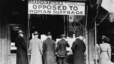 Photo of Early Suffragists Overcame Opposition from Other Women