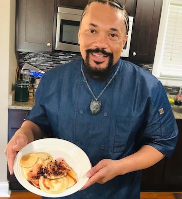 Chef James Wiggins of Roosevelt Senior High School in northwest D.C. (Courtesy photo)