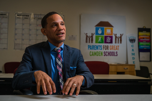 Bryan Morton, founder of Parents for Great Camden Schools (Courtesy of Parents for Great Camden Schools)