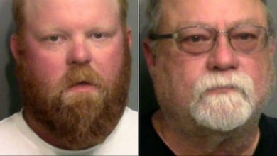 Photo of White Father, Son Charged with Murdering Black Jogger