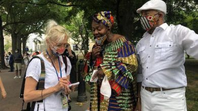 Photo of Healing Circle Near White House Channels African Ancestral Energy