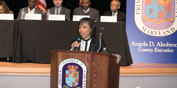 A revised budget to reflect the decrease in revenue due to the coronavirus pandemic was introduced by Prince George's County Executive Angela Alsobrooks last month and approved by the Council on Friday, May 31. (Courtesy of princegeorgescountymd.gov)