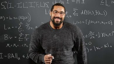Photo of Former Football Star Helping Students, Teachers with Online STEM Lessons