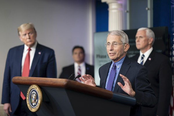 **FILE** Anthony Fauci (Official White House photo by Andrea Hanks)