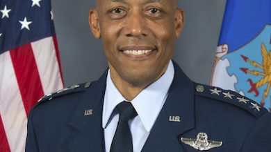 Photo of Gen. Charles Brown Confirmed as First Black to Head U.S. Military Service Branch
