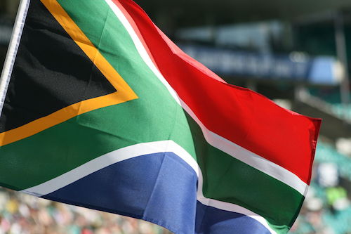 **FILE** The flag of South Africa (Courtesy of Wikimedia Commons)